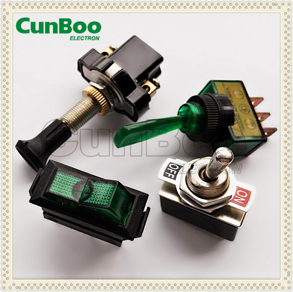 ASW-05 2P Push Pull Switch