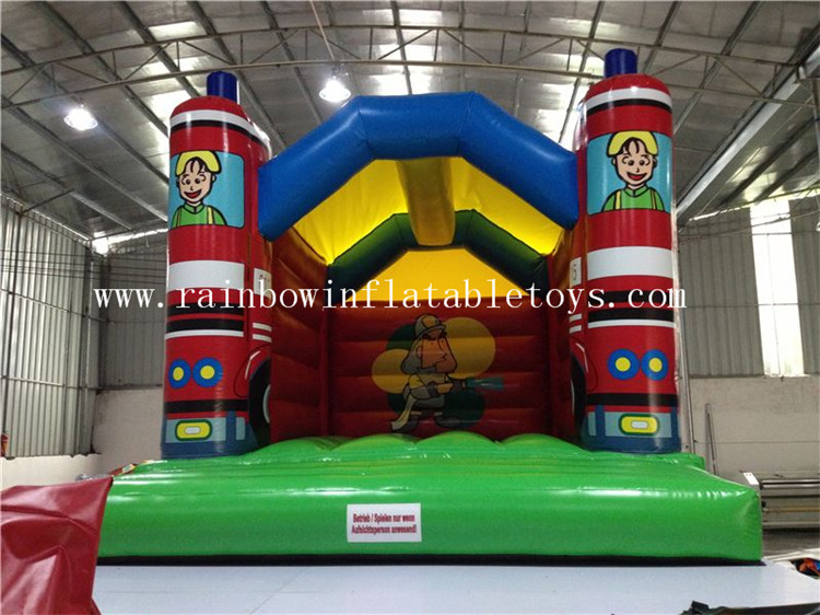 RB1010-1(4x5m)Inflatable fire car bouncer