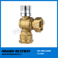 Brass Ball Valve with Lock Hot Sale Price (BW-L04)