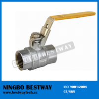 Brass Lockable Ball Valve with High Quality Price (BW-L09)