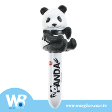 Min Ball Point Pen With Panda Finger Puppet Pen