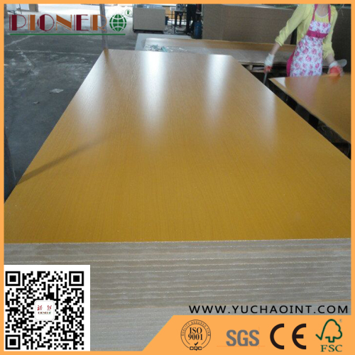 High Grade Melamine MDF for Furniture