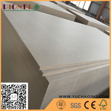 15mm Indoor Usage Semi-hardboards Fibreboard Type MDF