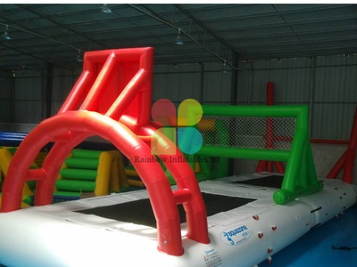 Inflatable water tennis park games for sale RB32081