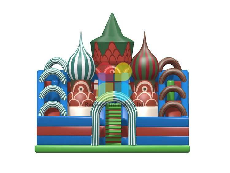 RB04153(10x8.5x8m)Inflatables castle funcity with slide new design