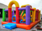 RB4092-1(5x7x3.8m) Inflatables Economic Classical Monster Funcity With Obstacle Course
