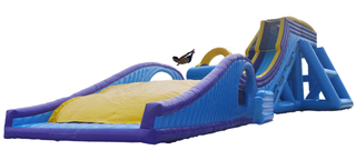 Seaside Large Inflatable Water Slide Hot Sale Beach Slide for Summer