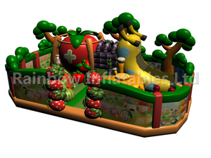 RB04129 (10x7m) Inflatable Fruit house funcity new design for sales