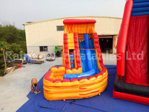 RB6083(4.5x7m) Inflatable Commercial Grade PVC Tarpaulin Water Slide Used In Water Park