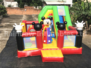 RB04125( 7x4.7m ) Inflatable Mickey mouse Jumping Funcity