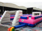 RB10021-1(12x6m) Inflatable Pink Giant PVC Football Games Playground For Fun