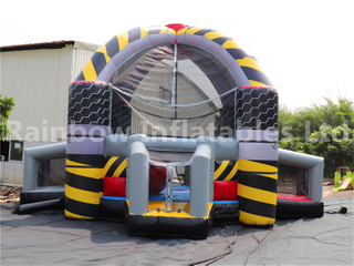 RB9130(Dia 8 m) Inflatable Defender Dome 3 in 1 sport game For Whole sale