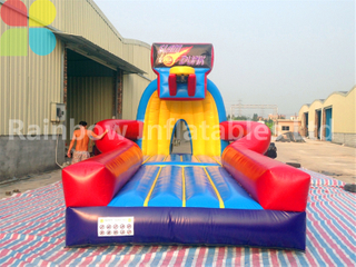RB91004(8.2x4.7x3.8m) Inflatable Basket Ball Sport Game For Outdoor Playground
