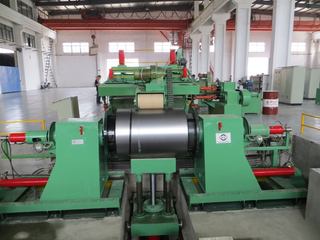 0.2-4mm High speed professional automatic sheet slitting unit factory