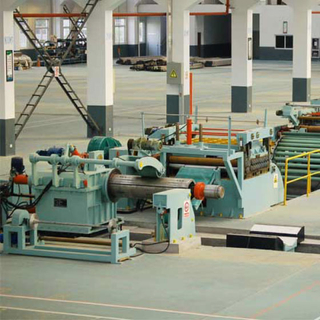 High precision good quality automatic copper strip coil cut to length equipment