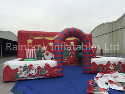 RB04011 (5x8m) Inflatable Cheap Christmas Party Decoration/Outdoor Christmas Inflatables