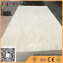 E1 Glue RadiatePine Poplar/Eucalyptus Core Commercial Laminated Plywood