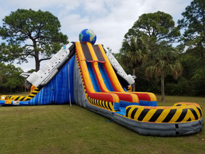 Commercial Inflatable Titanic Slides Inflatable Water Slide With Pool