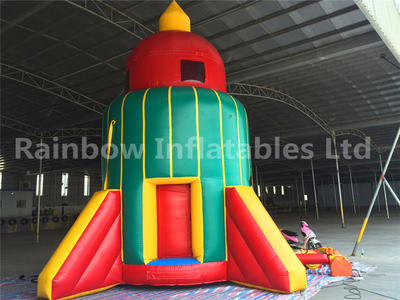 RB9112(4x4x7m) Inflatable Rock Theme Sport Game With Inside Rocking Chair