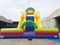 RB8047(13x10x8mh) Inflatable Climbing Rock Wall With Giant Slide For Sale