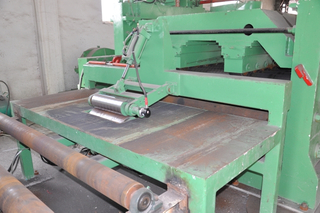 Bollina rotary shear steel coil cut to length line up
