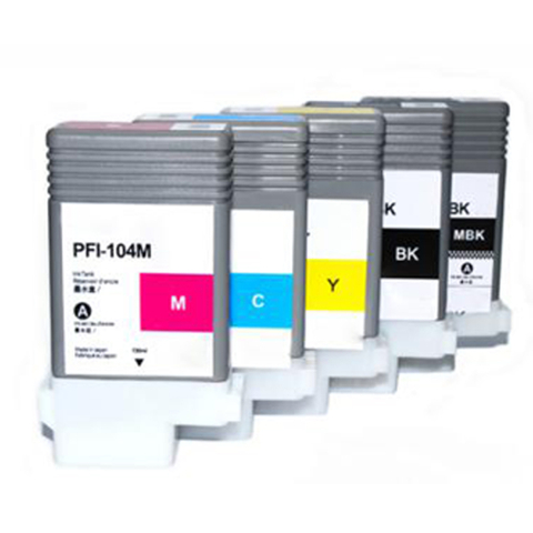 Canon PFI-104 Dye Ink Cartridge for Canon IPF650 /655/755/750 /765/760 Printer