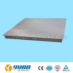 Model YS Single-desk Stainless Steel Floor Scale