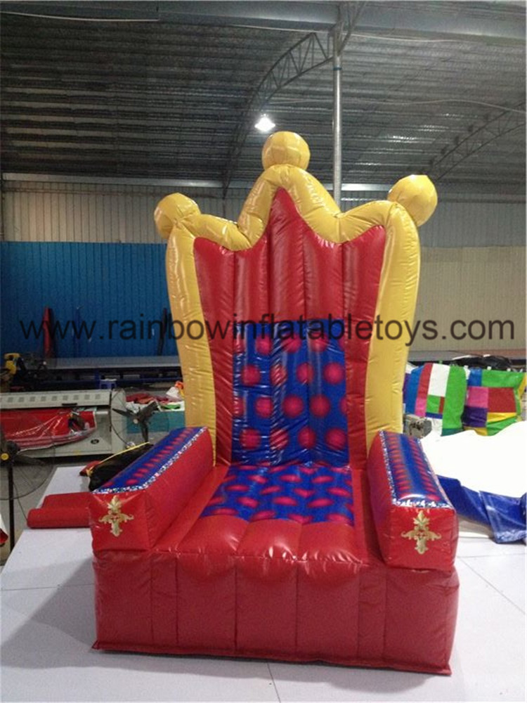 RB20007-1(2.5mh) Inflatable Throne Design Party Chair For Advertisement