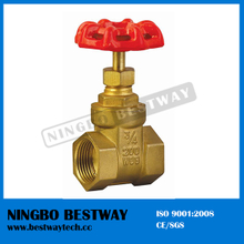 Brass Chain Wheel Gate Valve Grawing (BW-G02)