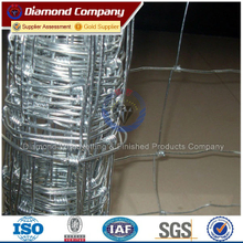 factory direct sale galvanized 8ft fixed knot field fence