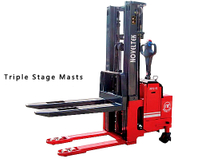 Advanced Powered Pallet Stacker (AC System)(Load: 1 Ton /1.5 Tons /1.8 Tons /2 Tons, 2200LB~4400LB )APS-10/15/18/20