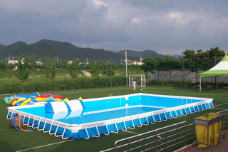 Outdoor Portable Inflatable Above Ground Pool Frame Pool for Kids And Adults