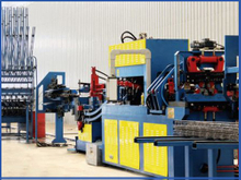 Numerical control steel bar truss welding production line