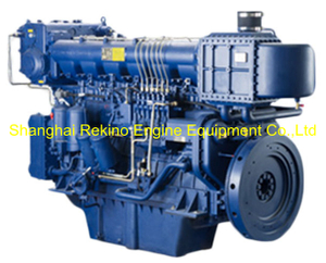 480HP 1200RPM Weichai medium speed marine diesel engine (X6170ZC480-2)