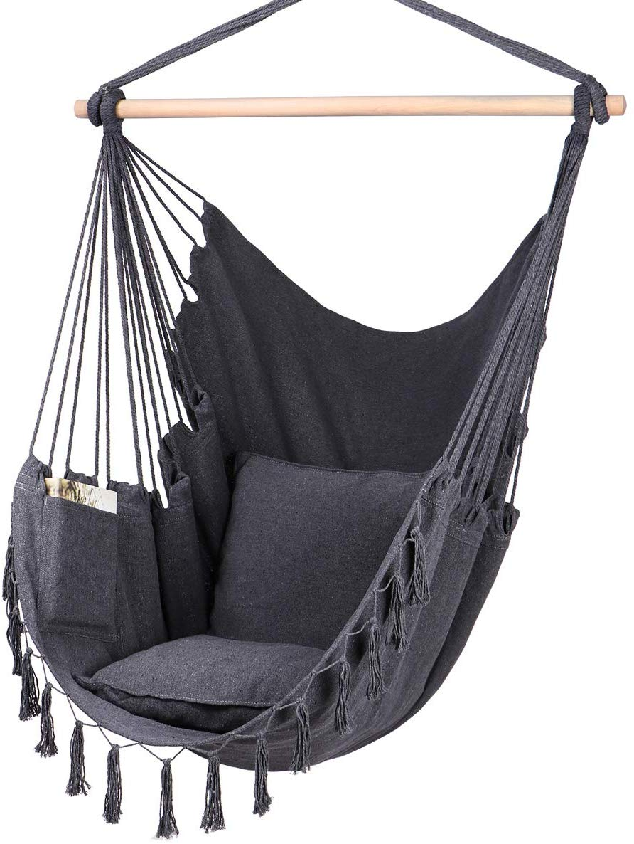 Hot Sales Garden Backyard Patio Garden Indoor Outdoor Boho Macrame Hammock Chair