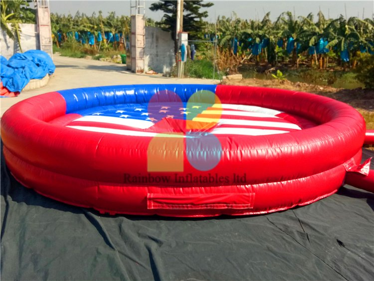 RB9124-8(dia 5m)Inflatable Bull Mattress For Outdoor Playground Sport Game or Mechanical Bull Game