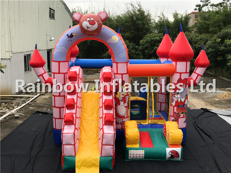 RB3044 (4x4x4.5m) Inflatables Colorful New Bouncy Castle/Inflatable Bouncing House For Park