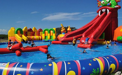 Inflatable Water Park amp Inflatable Water Slide