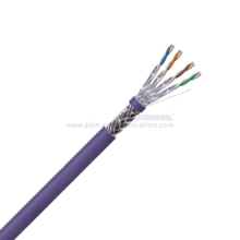 S/FTP CAT 6A BC PE Twisted Pair Installation Cable