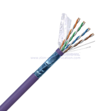 F/UTP CAT 6A BC PVC CMP Twisted Pair Installation Cable
