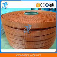 "1"" orange color lashing belt"
