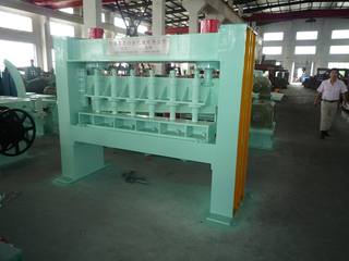 Steel shearing machine for steel coil slitting process for sale