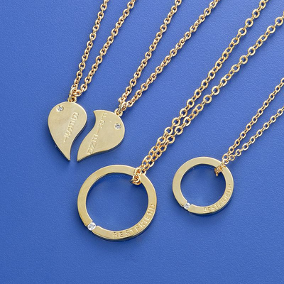 Heart Metal Necklaces