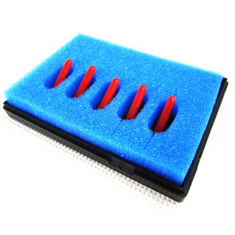 45 Degree Mimaki Cemented Carbide vinyl cutter Blades, N Grade Cemented Carbide Materials, 5pcs/pack