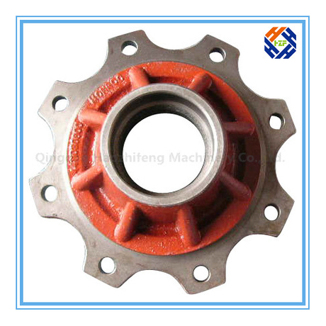 Steel Casting Flange for Agricultural Machinery