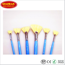 100% Pure Bristle wooden Handle Oil Paint Brush Painting from Crafoam