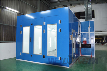 Paint Booth Installed In Malaysia