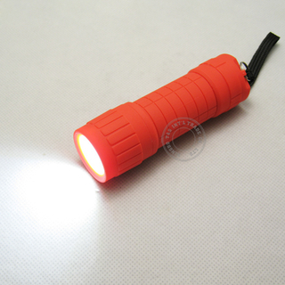 Plastic COB LED Flashlight