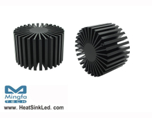 SimpoLED-BRI-8150 for Bridgelux Modular Passive LED Cooler Φ81mm