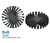 EtraLED-LUM-11020 LumiLEDs Modular Passive Star LED Heat Sink Φ110mm